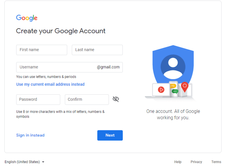 Creating Google ID to Get Disney+ Account Abroad