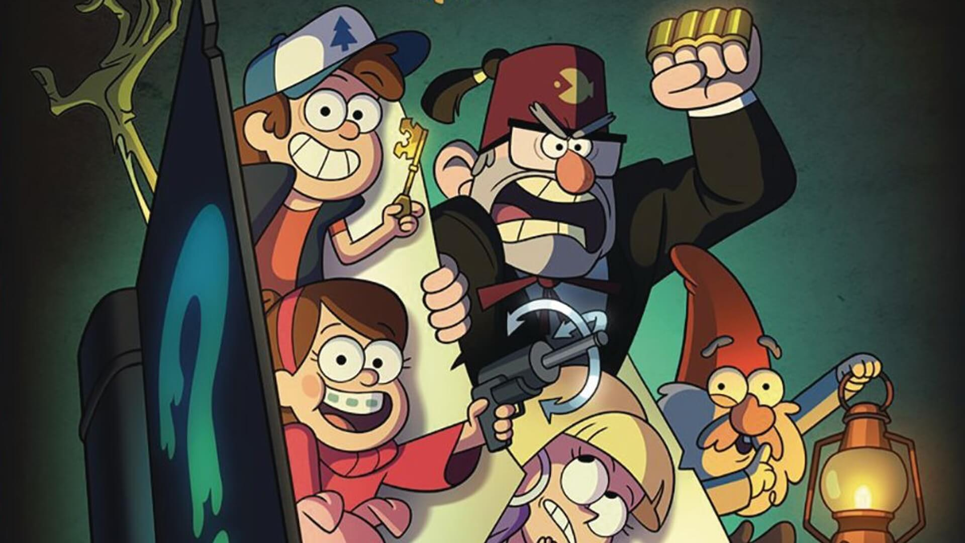 Gravity Falls Disney Plus